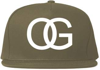 0390c79a Kings Of NY OG Original Gangsta Gangster Style Green Snapback Hat