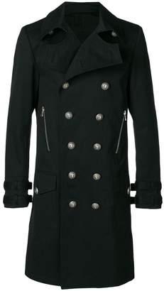 Balmain classic double-breasted coat