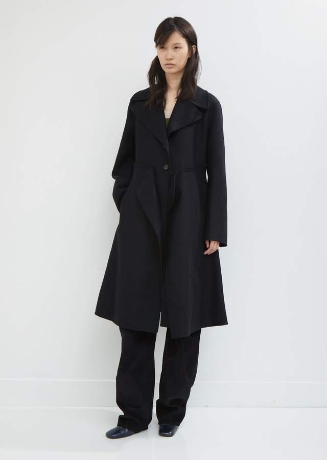 Felted Double Wool Coat