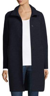 Harris Wharf London Egg Shaped Wool Coat