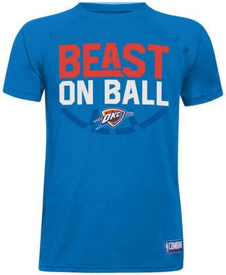 Under Armour Oklahoma City Thunder Combine Beast on Ball T-Shirt, Big Boys (8-20)