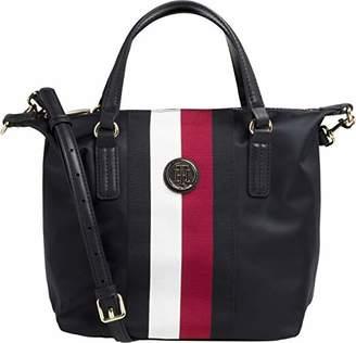 3a75b6f0657 Tommy Hilfiger Poppy Small Stripe Tote Womens Shopper Bag