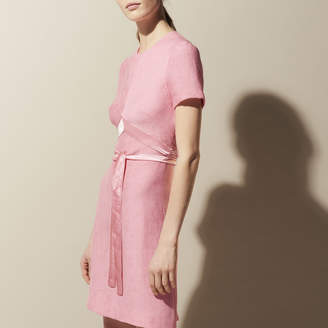 Sandro Dress with satin details