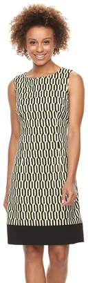 Ronni Nicole Women's Geometric Shift Dress