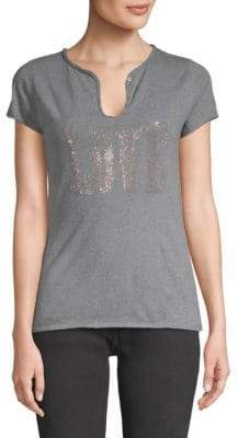 Zadig & Voltaire Tunisien Love Cotton Tee