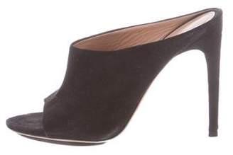 Calvin Klein Collection Suede Slide Sandals