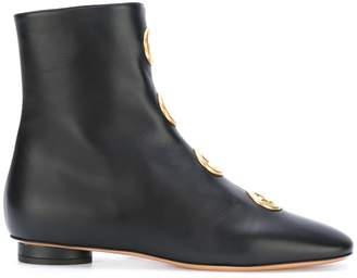 Valentino eyelet boots