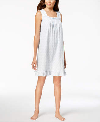 Charter Club Lace-Trim Ruffle-Hem Nightgown
