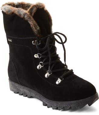 Cougar Black Zag Deertan Suede Winter Boots