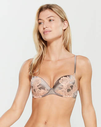 Cotton Club Lace Covered Push-Up Bra