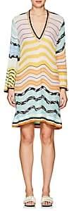 Missoni Mare Women's Striped V-Neck Dress - White Multi