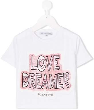Patrizia Pepe (パトリツィア ペペ) - Patrizia Pepe Junior Love Dreamer Tシャツ