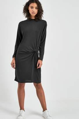 Replay Womens Black Knot Detail Dress - Black