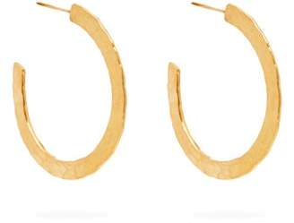 Pippa Small Turquoise Mountain - Rohin 18kt Gold Vermeil Hoop Earrings - Womens - Gold