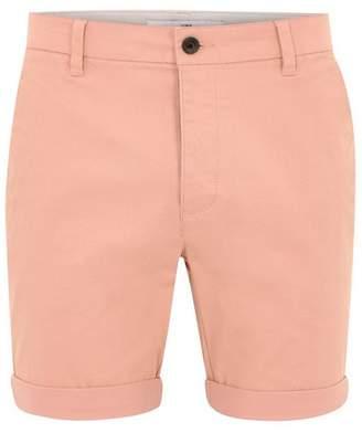 Topman Mens Pink Peach Chino Shorts