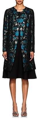Zac Posen Women's Floral Mousseline Coat