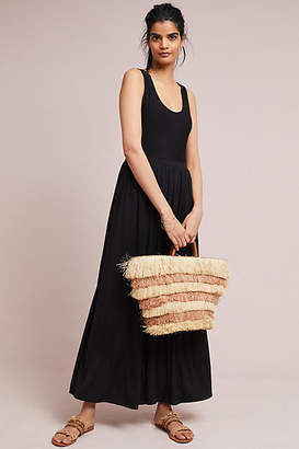 Maeve Cross-Back Maxi Dress