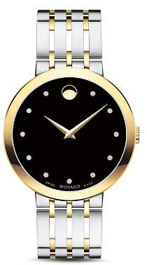 Movado Esperanza Diamond Two-Tone Watch, 39mm