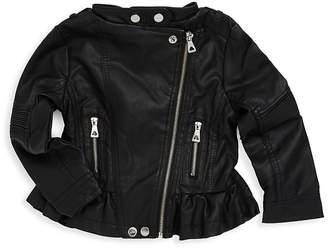 Urban Republic Baby Girl's Moto Jacket