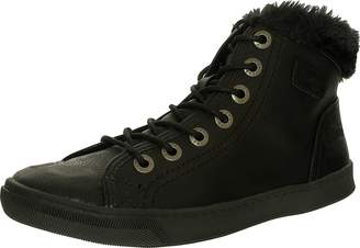 Blowfish Women's Perl Shr Synthetic Ankle-High Leather Fashion Sneaker - 7.5M