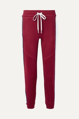 All Access Prodigy Striped Stretch-jersey Track Pants
