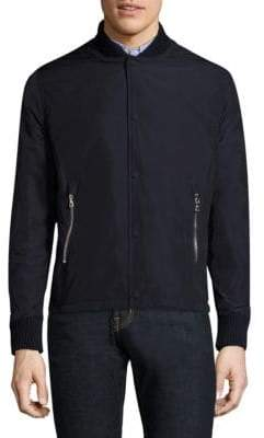 Officine Generale Stan Zippered Pocket Jacket