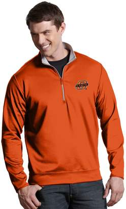 Antigua Men's Oklahoma State Cowboys 1/4-Zip Leader Pullover