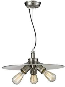 Innovations Lighting Bare Bulb 3-Light Dome Pendant Innovations Lighting