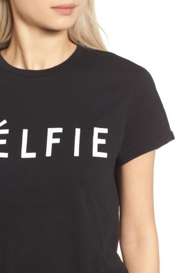 Women's Sincerely Jules 'Celfie' Graphic Tee 5