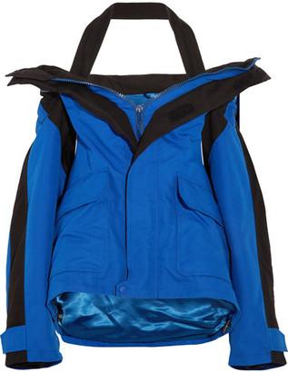 Balenciaga - Oversized Shell Parka - Royal blue $2,750 thestylecure.com