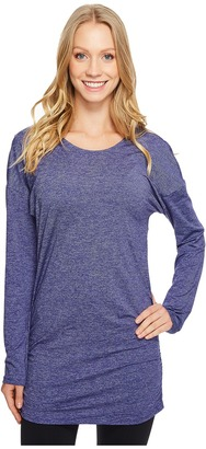 Lucy - Manifest Long Sleeve Tunic Women's Long Sleeve Pullover $65 thestylecure.com
