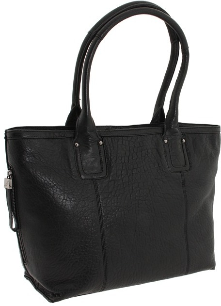 Perlina Handbags - Cynthia Tote (Black) - Bags and Luggage