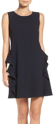 Women's Taylor Dresses Ruffle Shift Dress $98 thestylecure.com