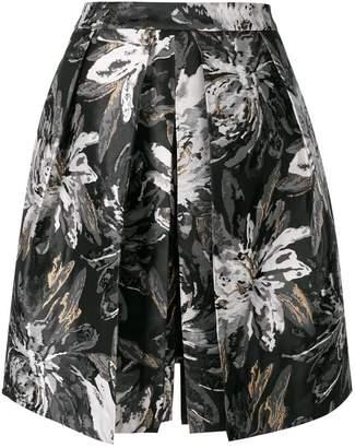 Steffen Schraut floral print skirt