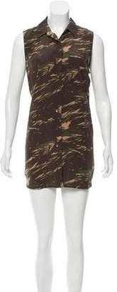Equipment Silk Printed Dress