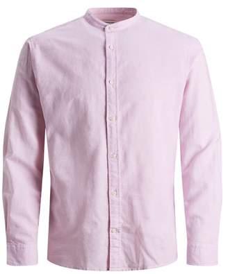 Jack and Jones Mandarin Collar Slim Fit Shirt