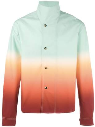 J.W.Anderson standing collar buttoned jacket