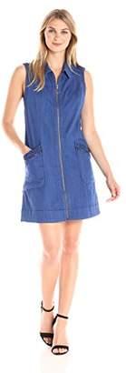 Democracy Women's Zip Front A-line Dress