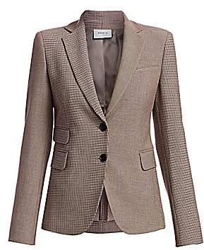 Akris Punto Women's Houndstooth Block Jacket