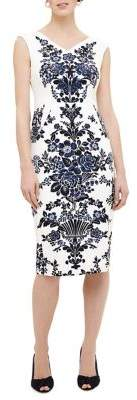 Phase Eight Milano Whitney Placement Print Dress