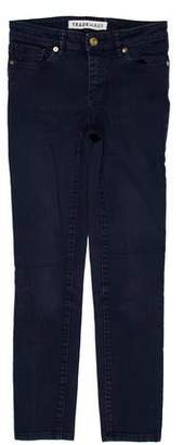 Trademark Distressed Skinny Leg Jeans