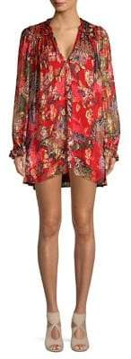 The Kooples Bollywood Floral Dress