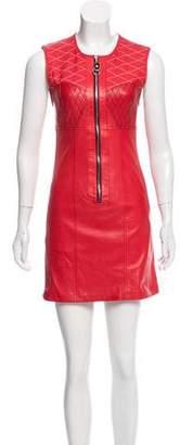 Louis Vuitton Sleeveless Leather Dress