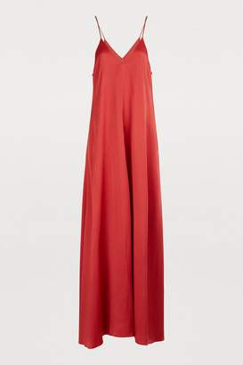 Forte Forte Long dress with straps