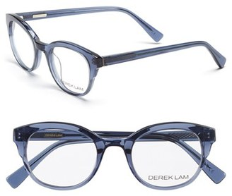 Women's Derek Lam 46Mm Optical Glasses - Dark Grey