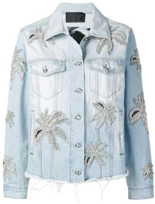 Philipp Plein Aloha Plein denim jacket