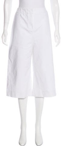 Kate Spade New York High-Rise Structured Culottes