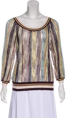 Missoni Knit Long Sleeve Top