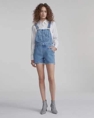 Rag & Bone Patched short dungaree