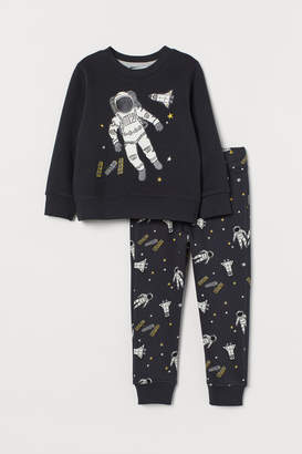 H&M Top and joggers